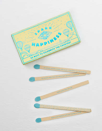 Spark Happiness Faux Match Box