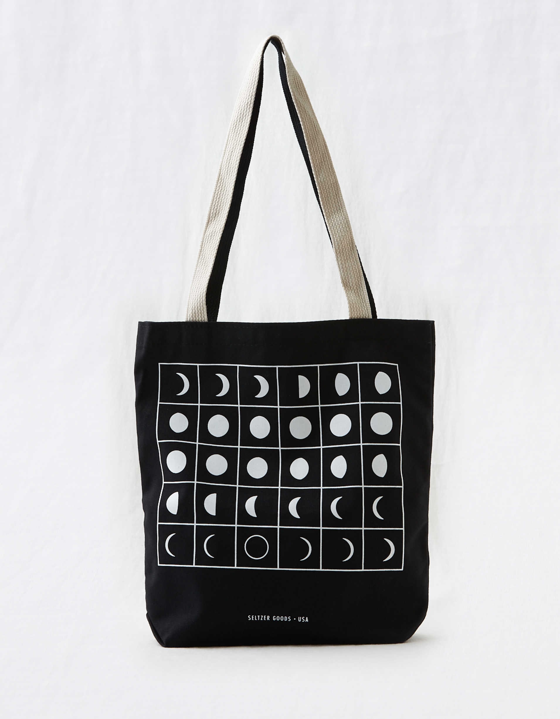 Seltzer Moon Phases Tote