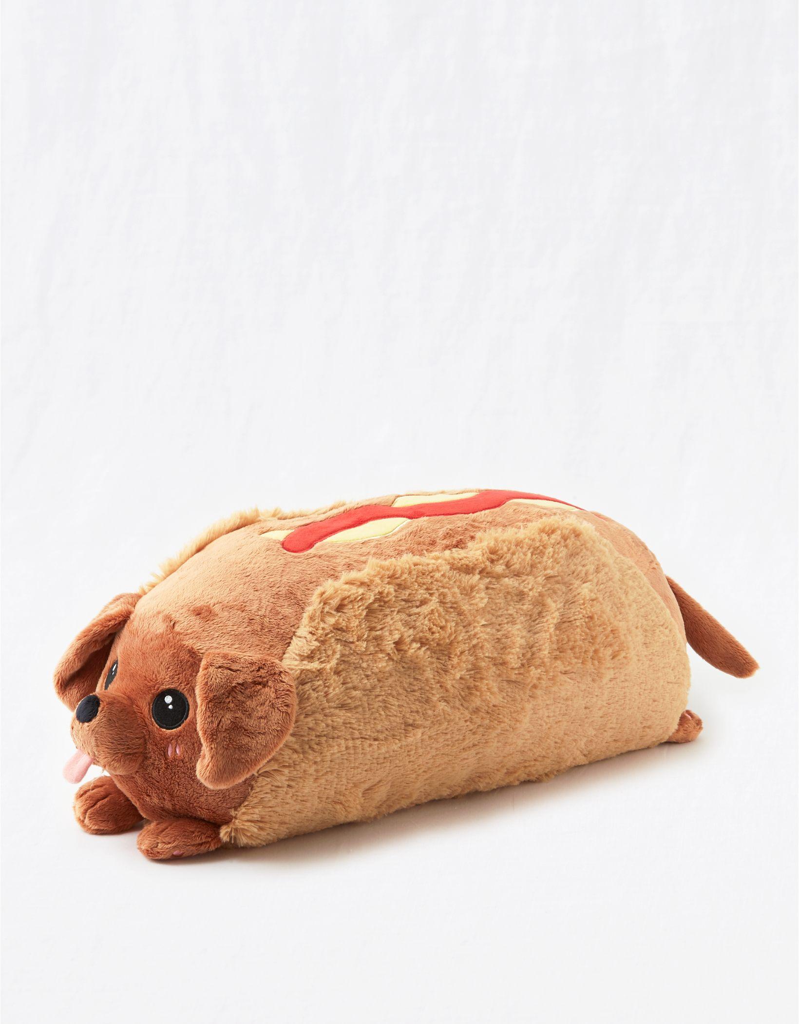 Squishable Daschund Hot Dog Pillow