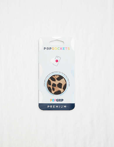 Popsocket Vegan Leather Leopard PopGrip