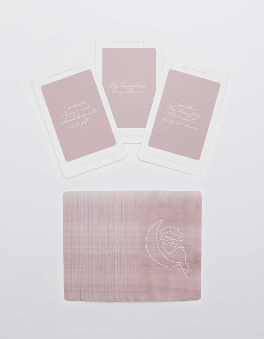 Eleven11 Positive Thinking Affirmation Cards