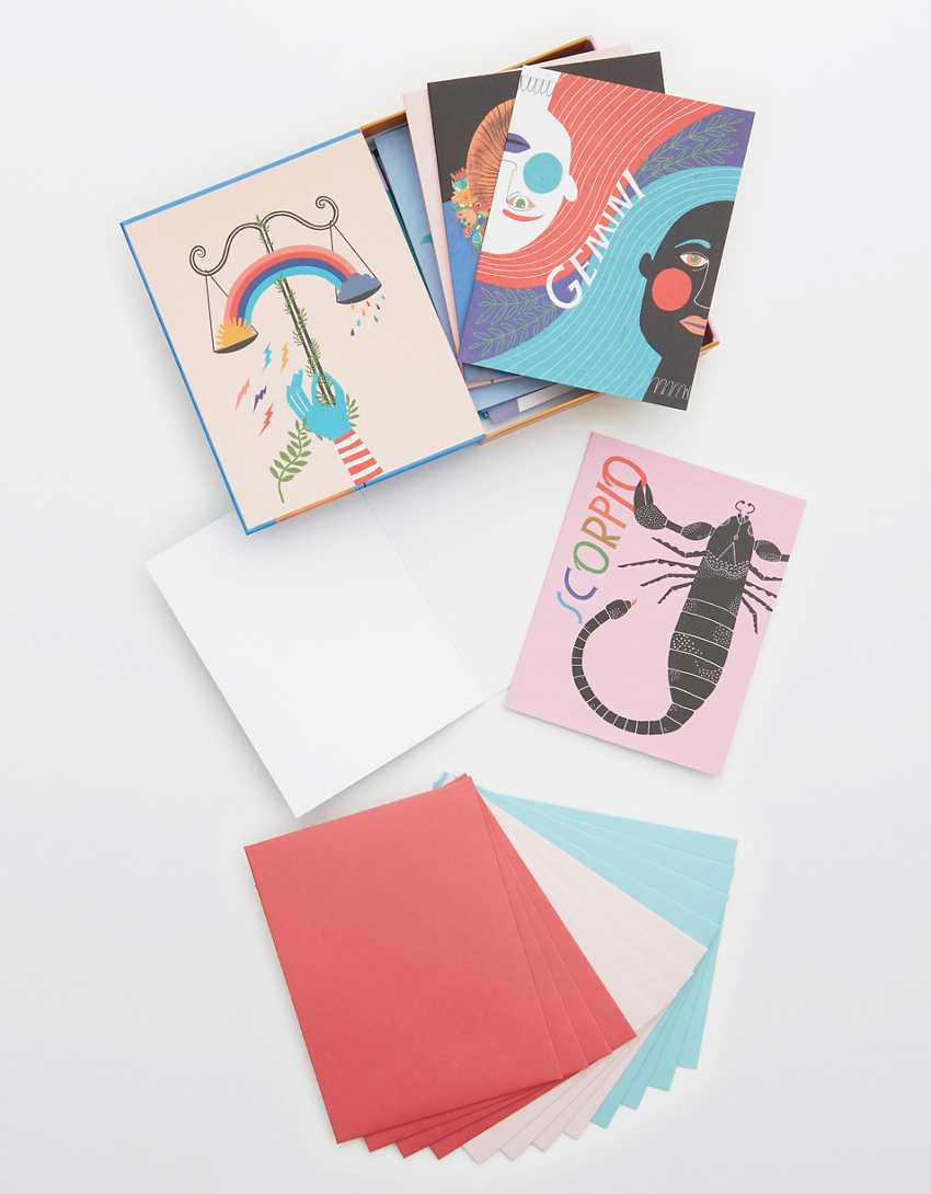 Zodiac Card Set 5-Pack