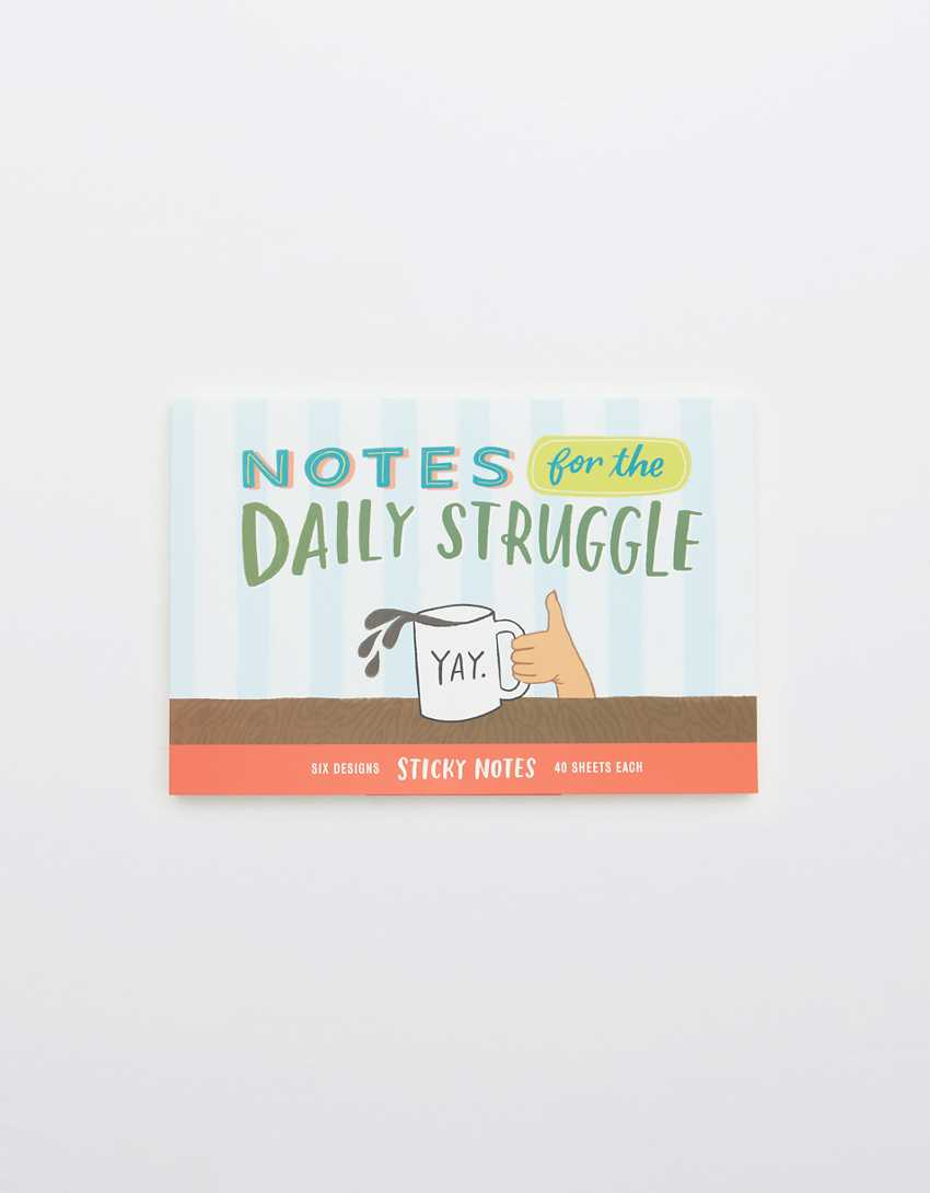 Notes For The Daily Struggles Sticker Book