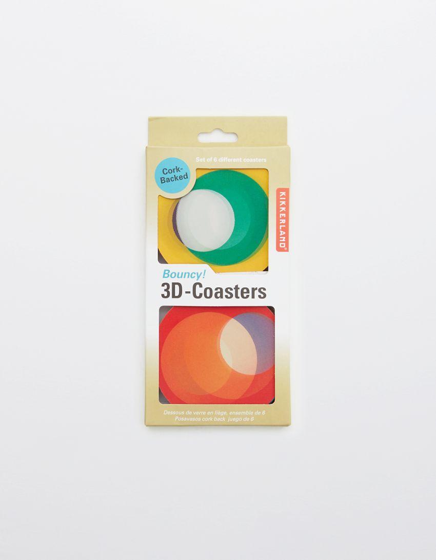 Bouncy 3D Coasters