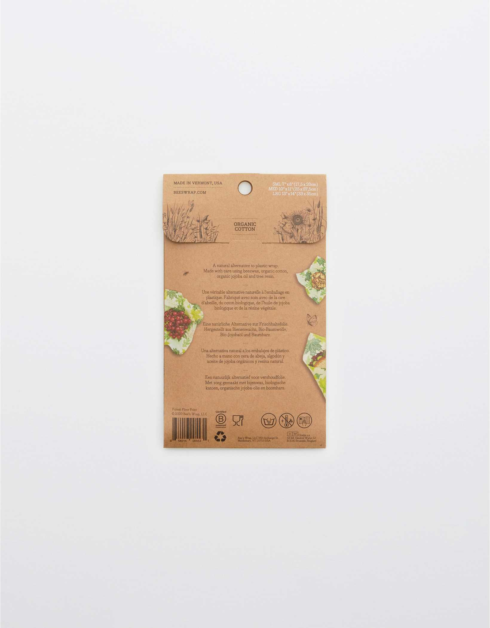 Bee's Wrap Forest Floor Assorted 3-Pack