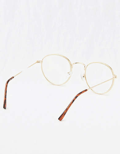 Aerie Round Bluelight Glasses