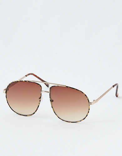 Aerie Extra Fly Aviator Sunglasses