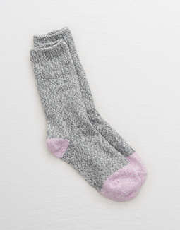 aerie-real-soft®-crew-socks by american-eagle-outfitters