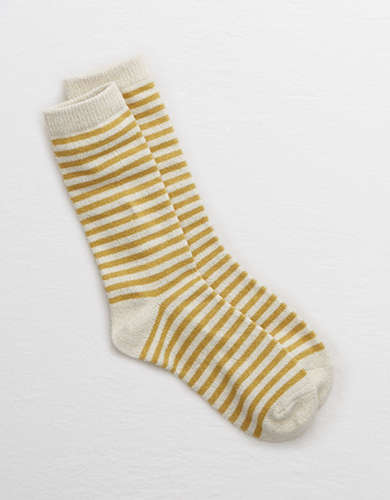 Aerie Glitter Stripe Crew Socks - Buy One, Get One 50% Off