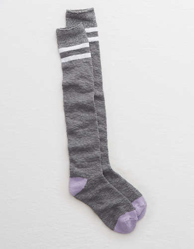 Aerie Shine Over-the-Knee Socks -