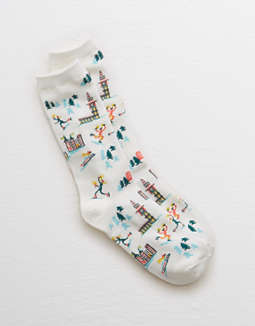 Aerie Ski Crew Socks by American Eagle Outfitters