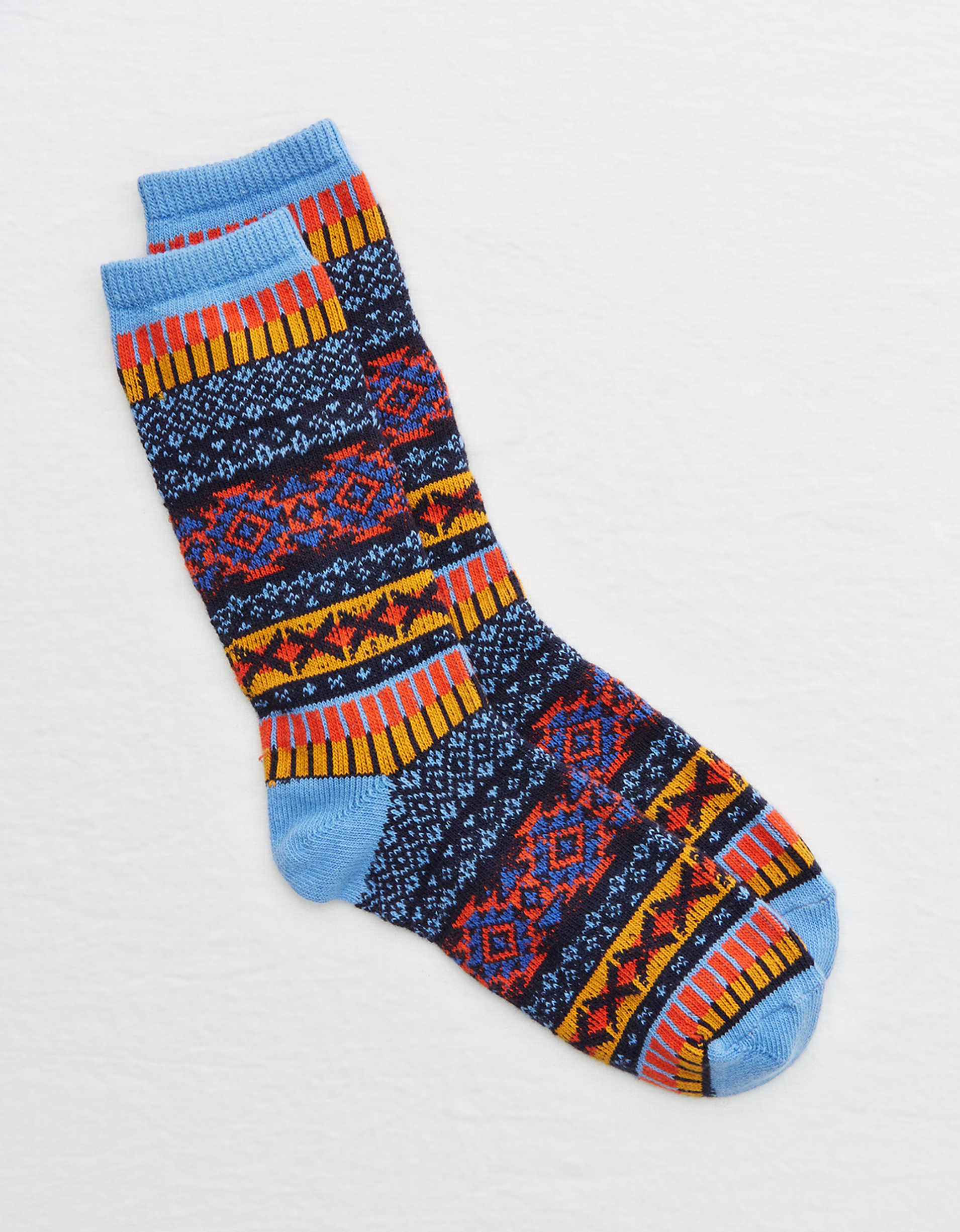 Aerie Fairisle Crew Socks