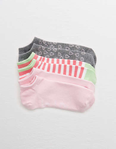 Aerie Ankle Socks 3-Pack