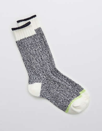 Aerie Colorblock Crew Socks