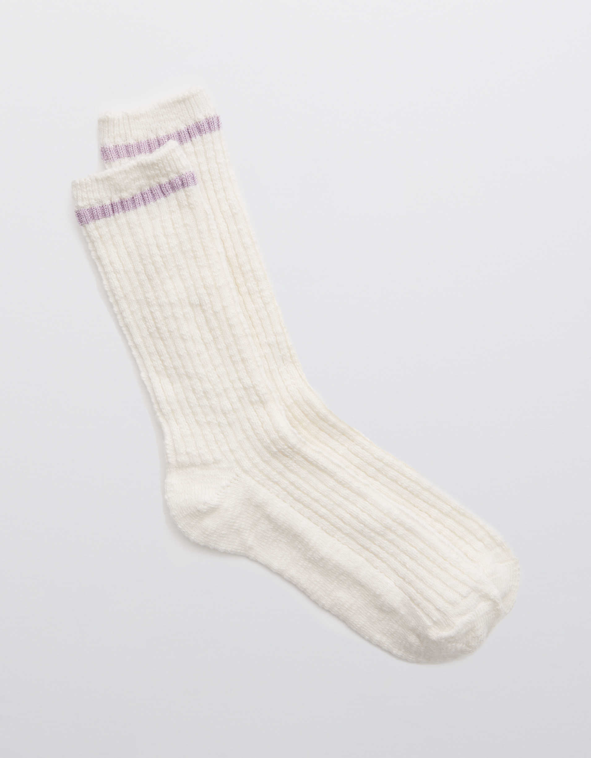 Aerie Cotton Crew Socks