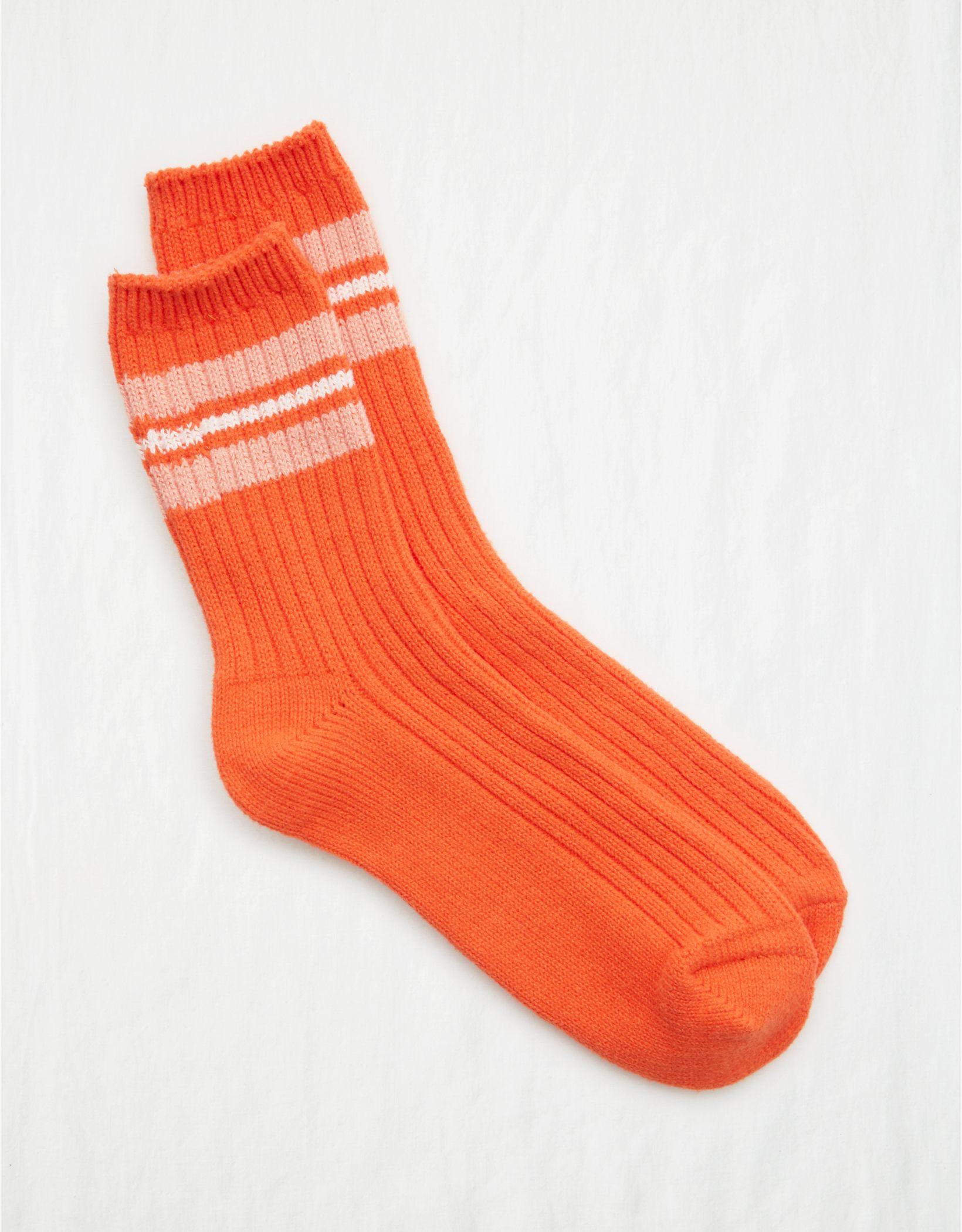 Aerie Everyday Striped Crew Socks