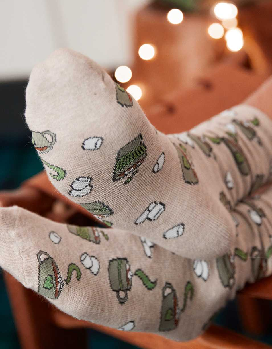 Aerie Graphic Crew Socks