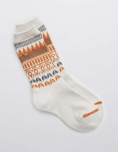 Aerie Fairisle Socks