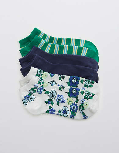Aerie Ankle Sock 3-Pack