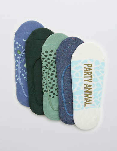 Aerie No Show Sock 5-Pack