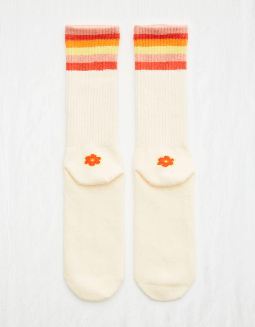 Aerie Heel Icon Crew Socks