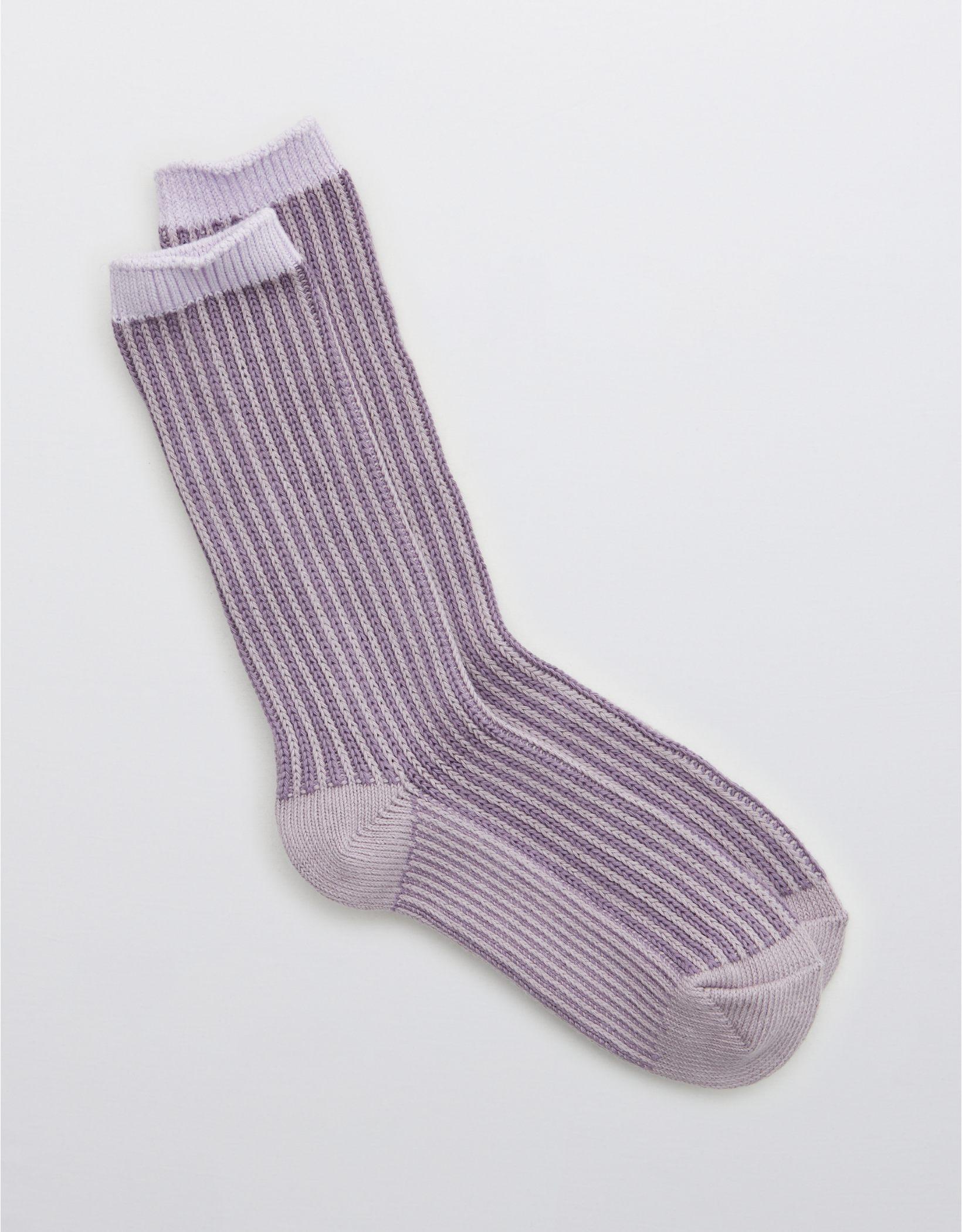 Aerie Plated Crew Socks