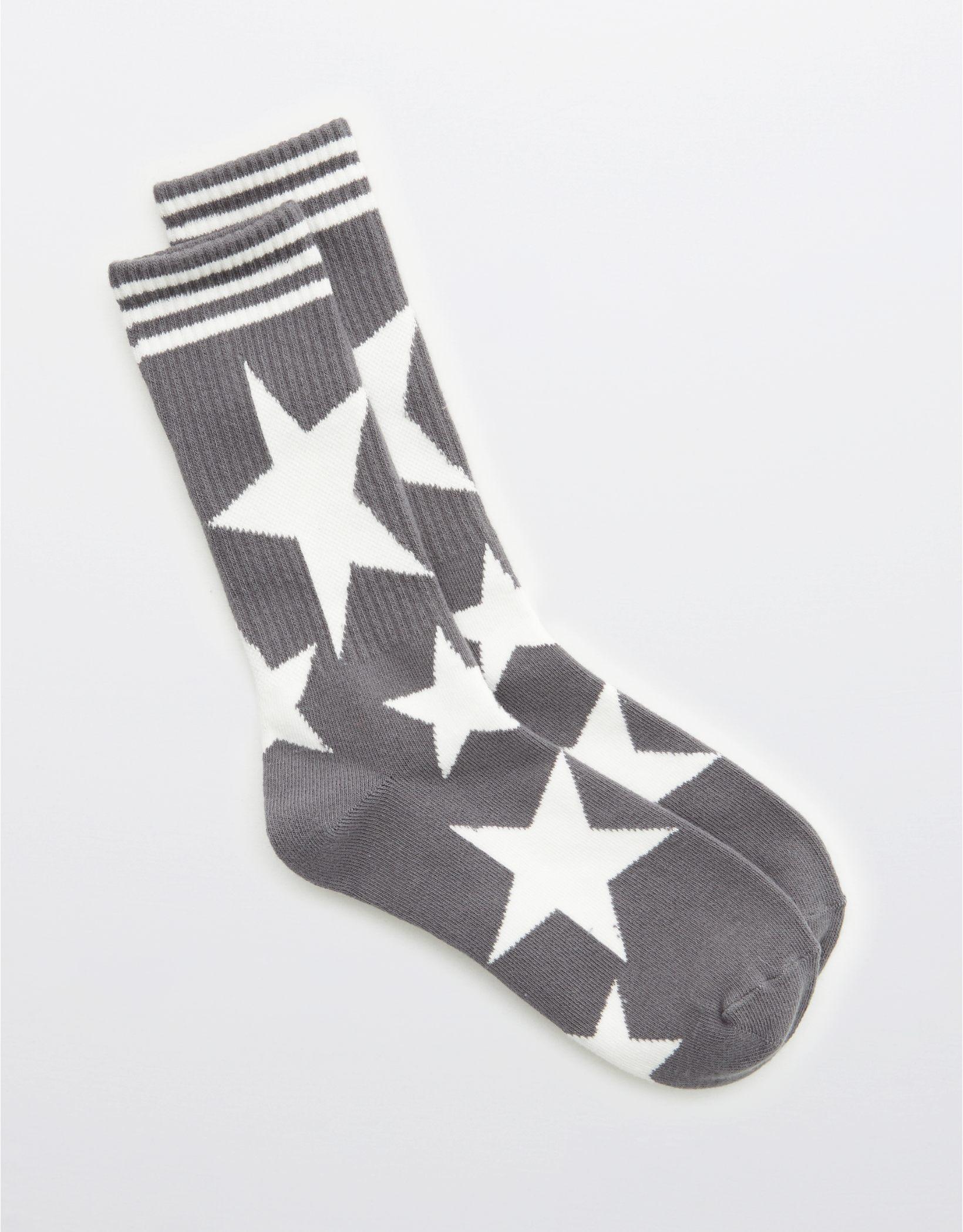 Aerie Ribbed Crew Socks