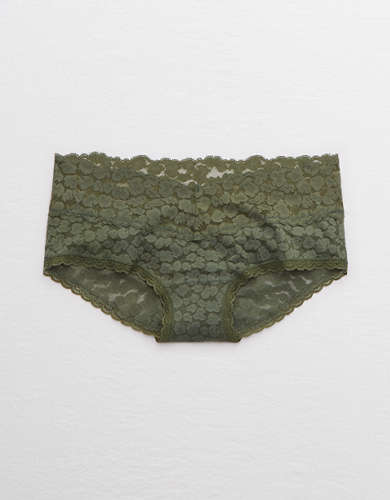 Aerie Animal Lace Boybrief Underwear