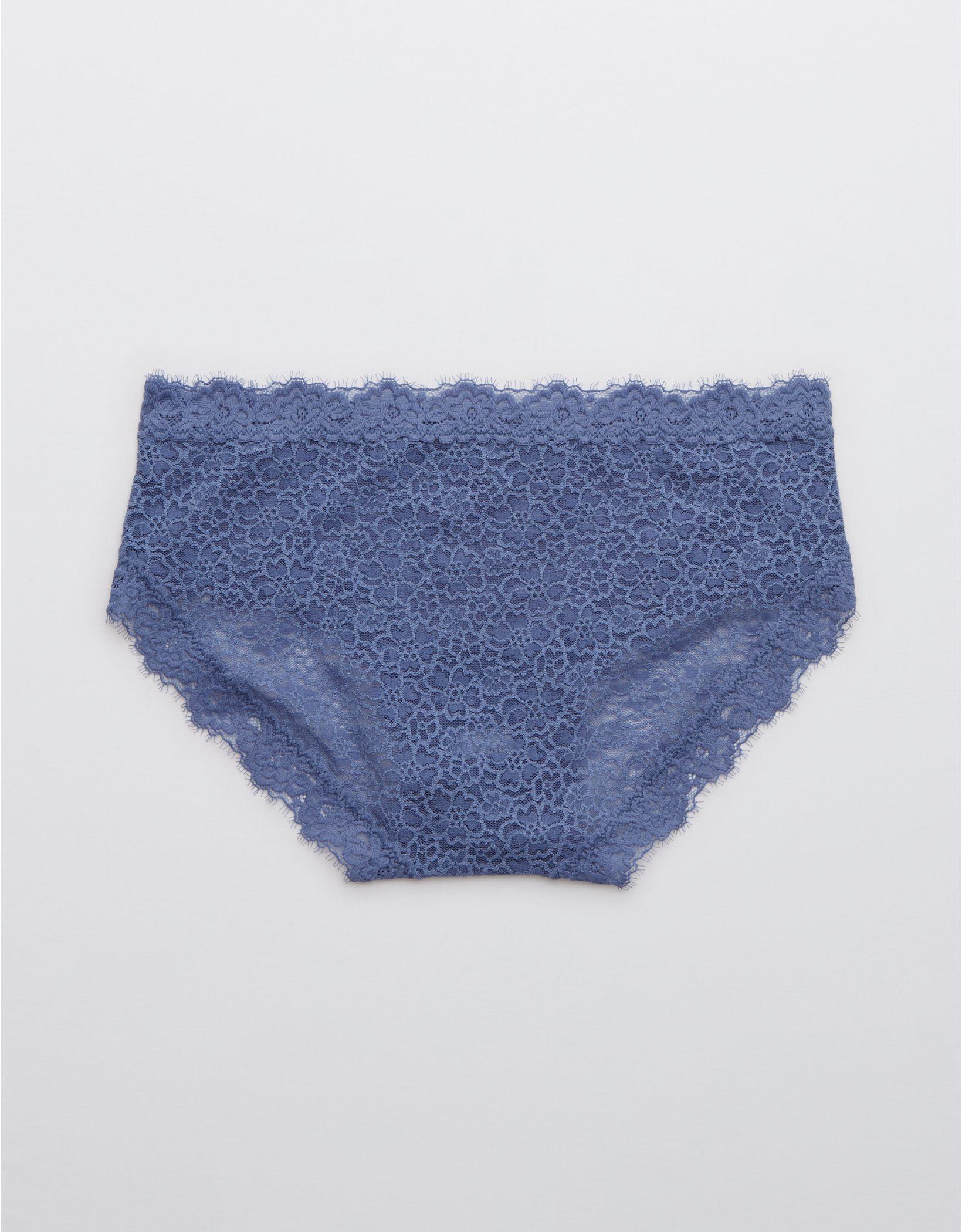 Aerie Eyelash Lace Boybrief Underwear