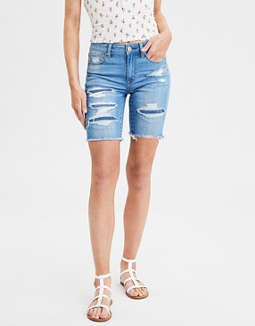 AE Ne(X)t Level High-Waisted Skinny Bermuda Short