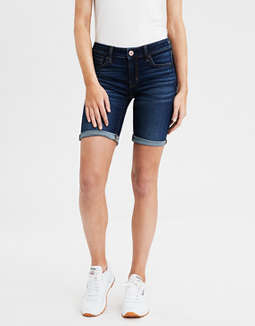 AE Denim Skinny Bermuda Short