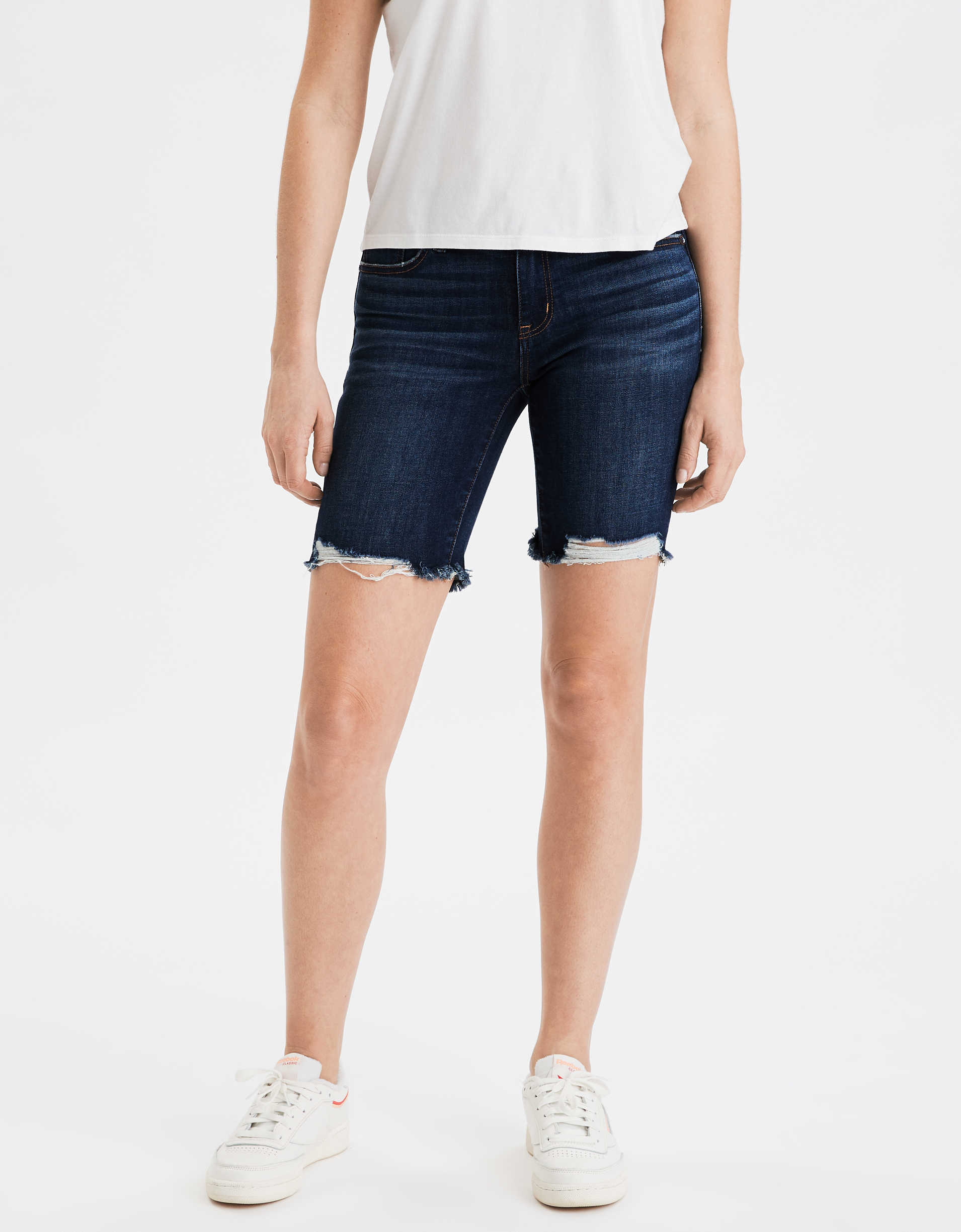 AE Ne(x)t Level Denim Skinny Bermuda Short