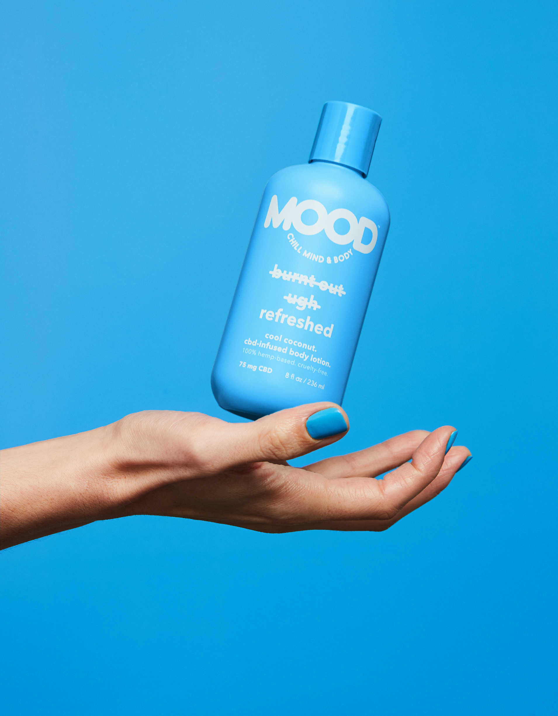 MOOD Refreshed CBD-Infused Body Lotion