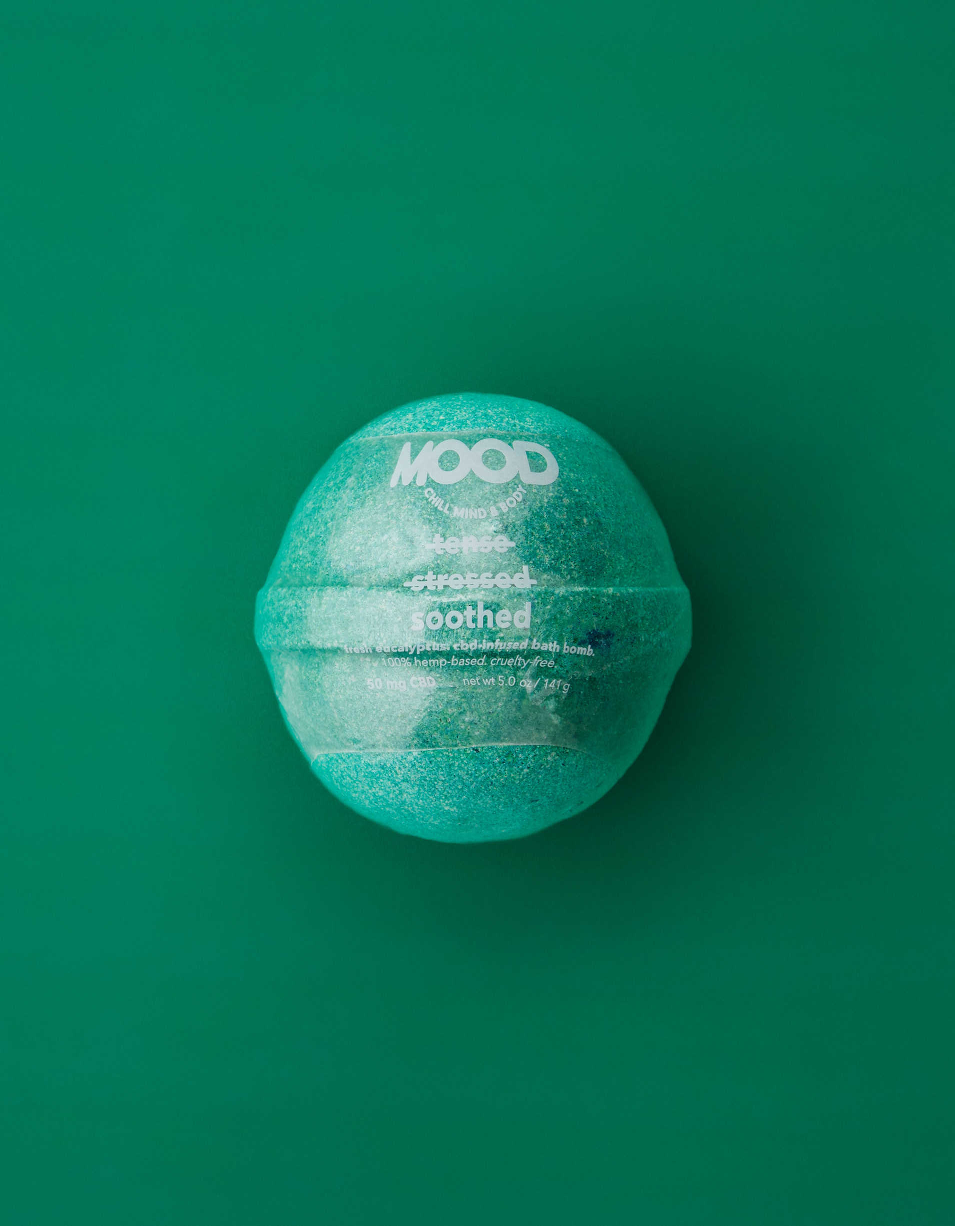 MOOD Soothed CBD-Infused Bath Bomb