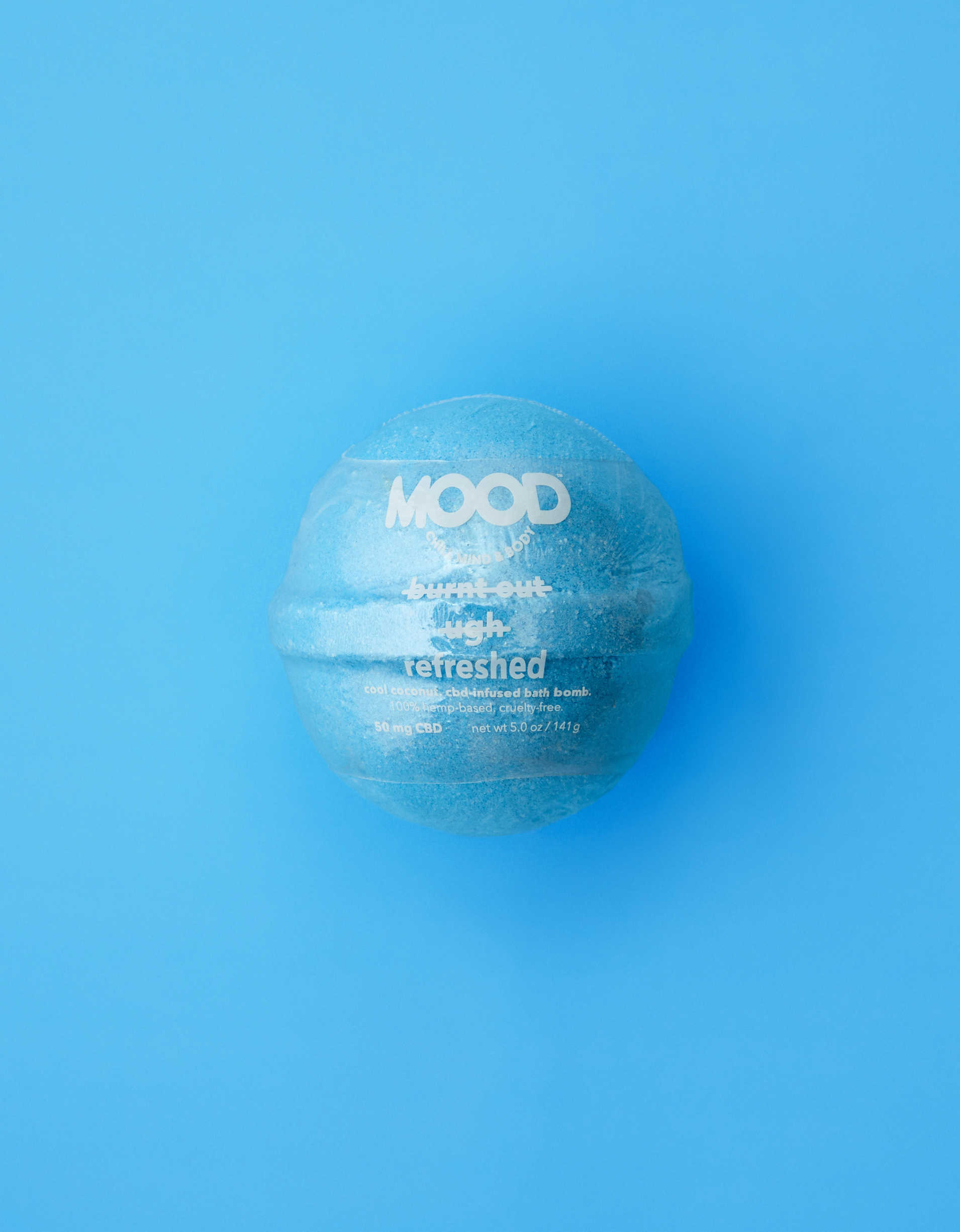 MOOD Refreshed CBD-Infused Bath Bomb