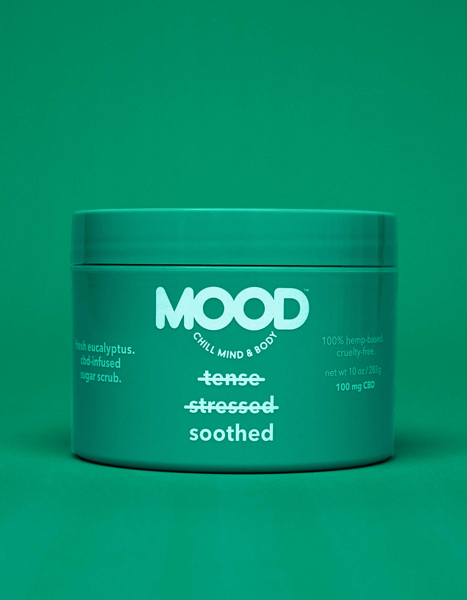 MOOD Soothed CBD-Infused Sugar Scrub