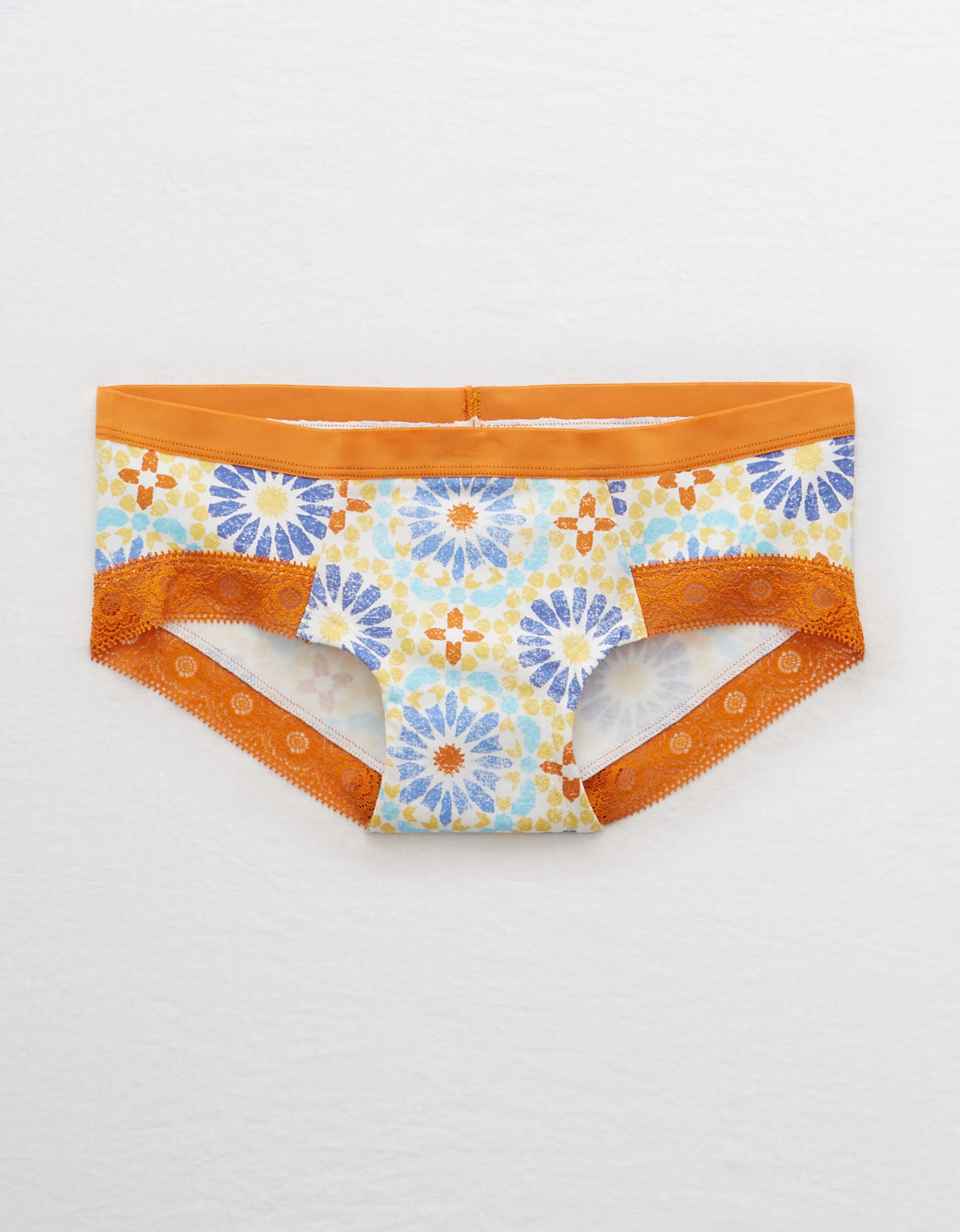 Aerie Cotton Lace Trim Boybrief Undie