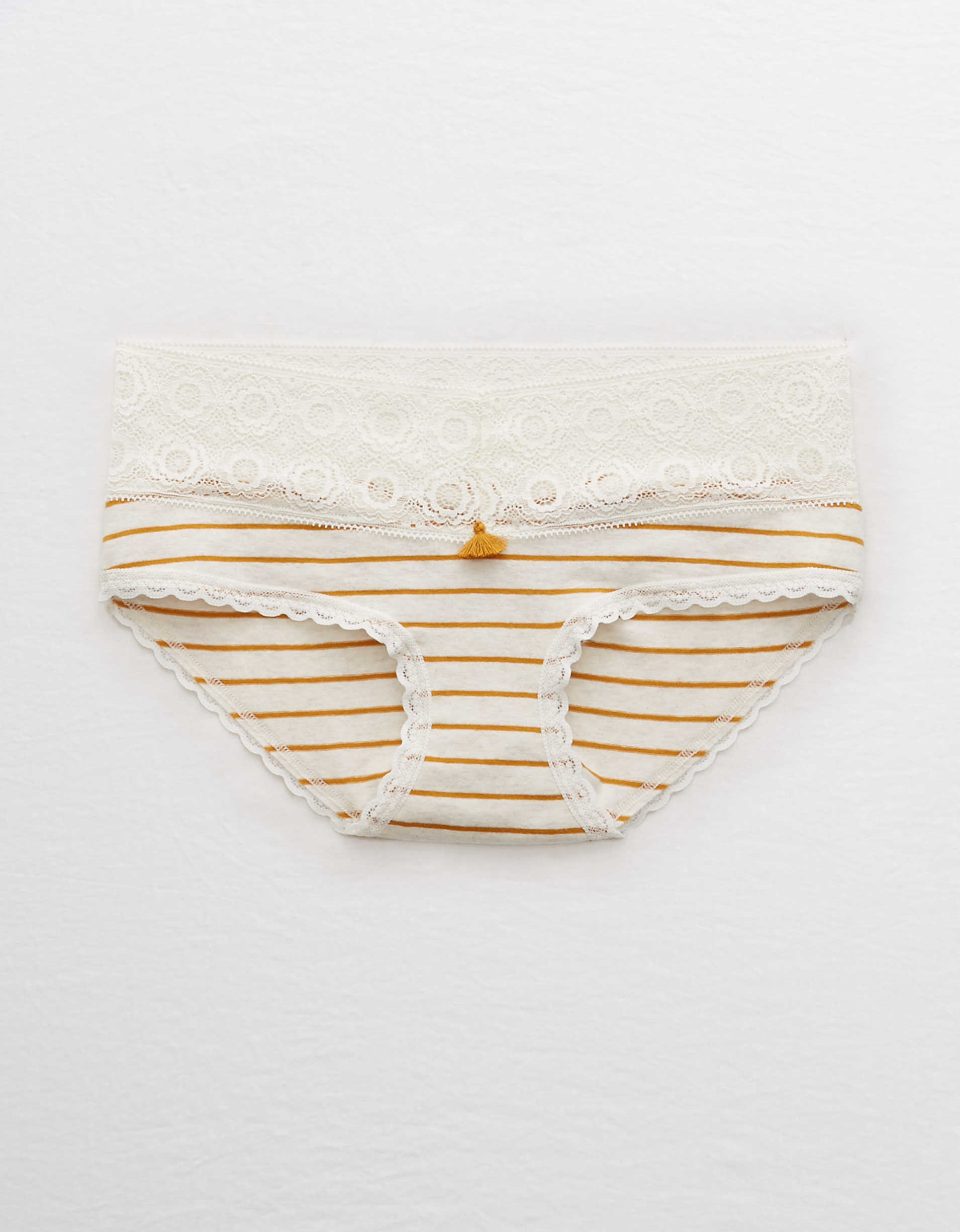 Aerie Cotton Lace Trim Boybrief Underwear