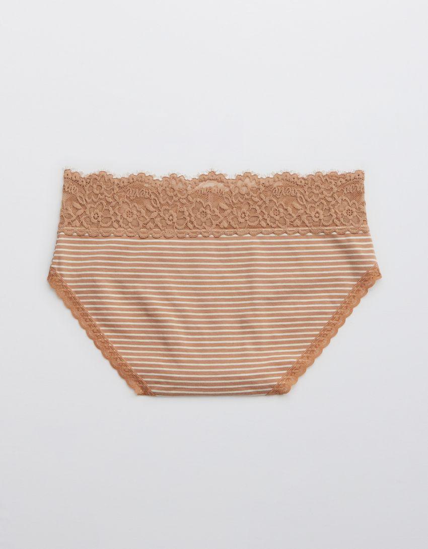 Aerie Cotton Eyelash Lace Boybrief Underwear