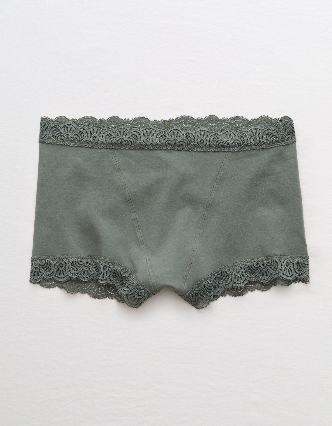 09a63f99d91f Aerie Cotton Mid Rise Boyshort Undie, Royal Palm | Aerie for ...