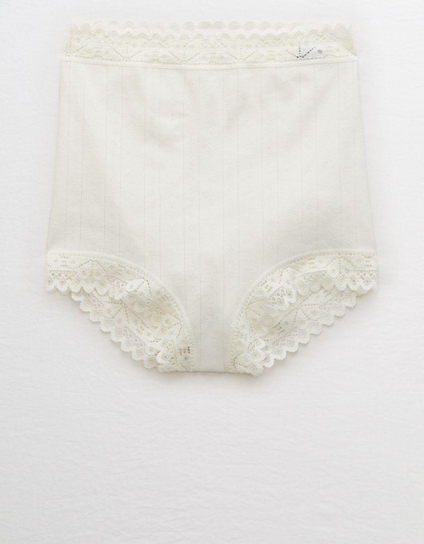 Aerie Cotton High Waisted Boybrief Underwear
