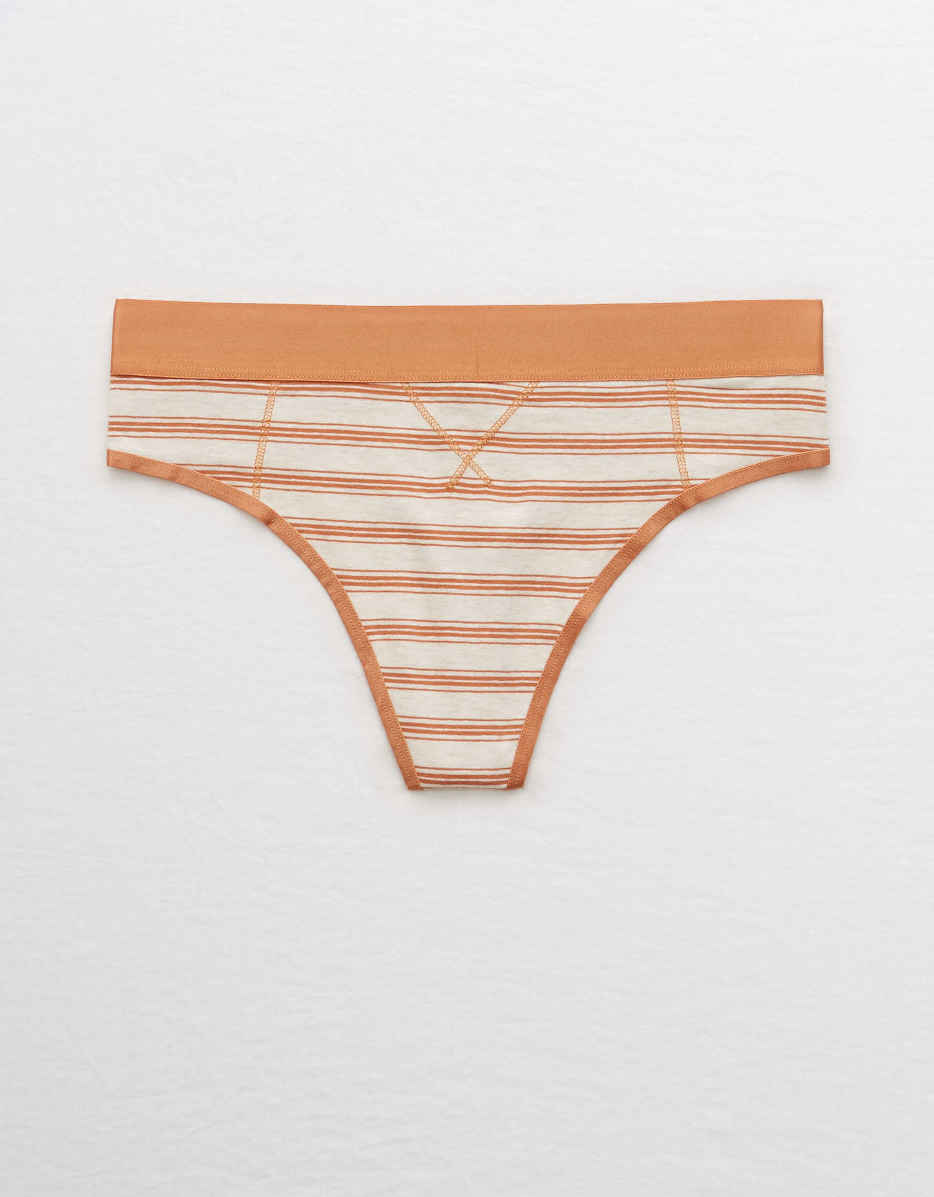 Aerie Cotton High Cut Thong Underwear
