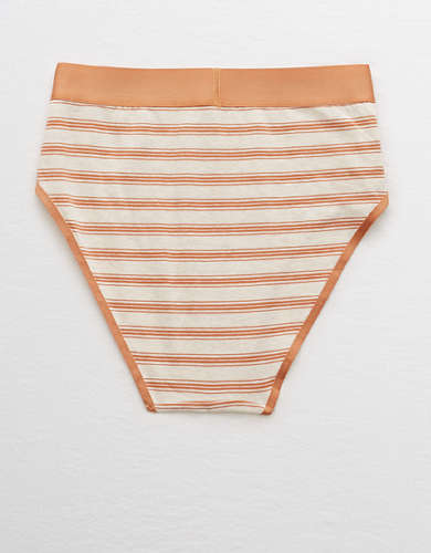 Aerie Cotton High Cut Bikini Undie