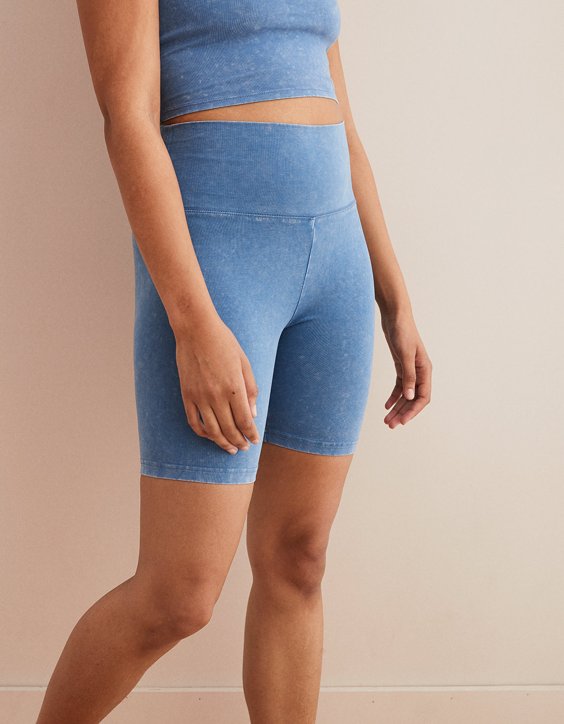 Aerie Chill High Waisted Bike Short