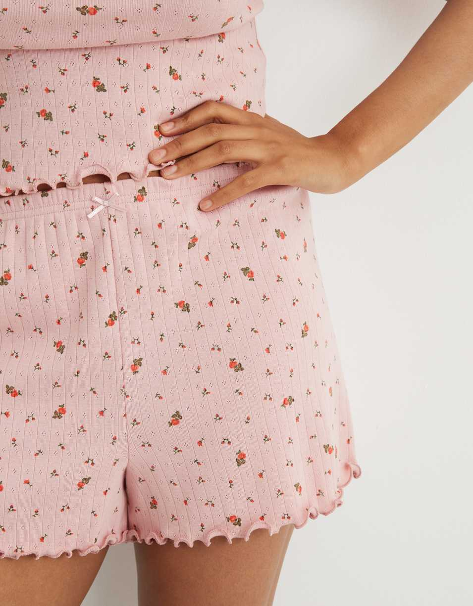 Aerie Pointelle High Waisted Boxer