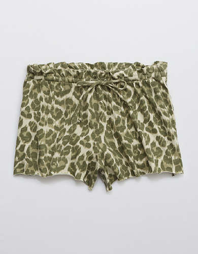 Aerie Animal Print Paperbag Boxer