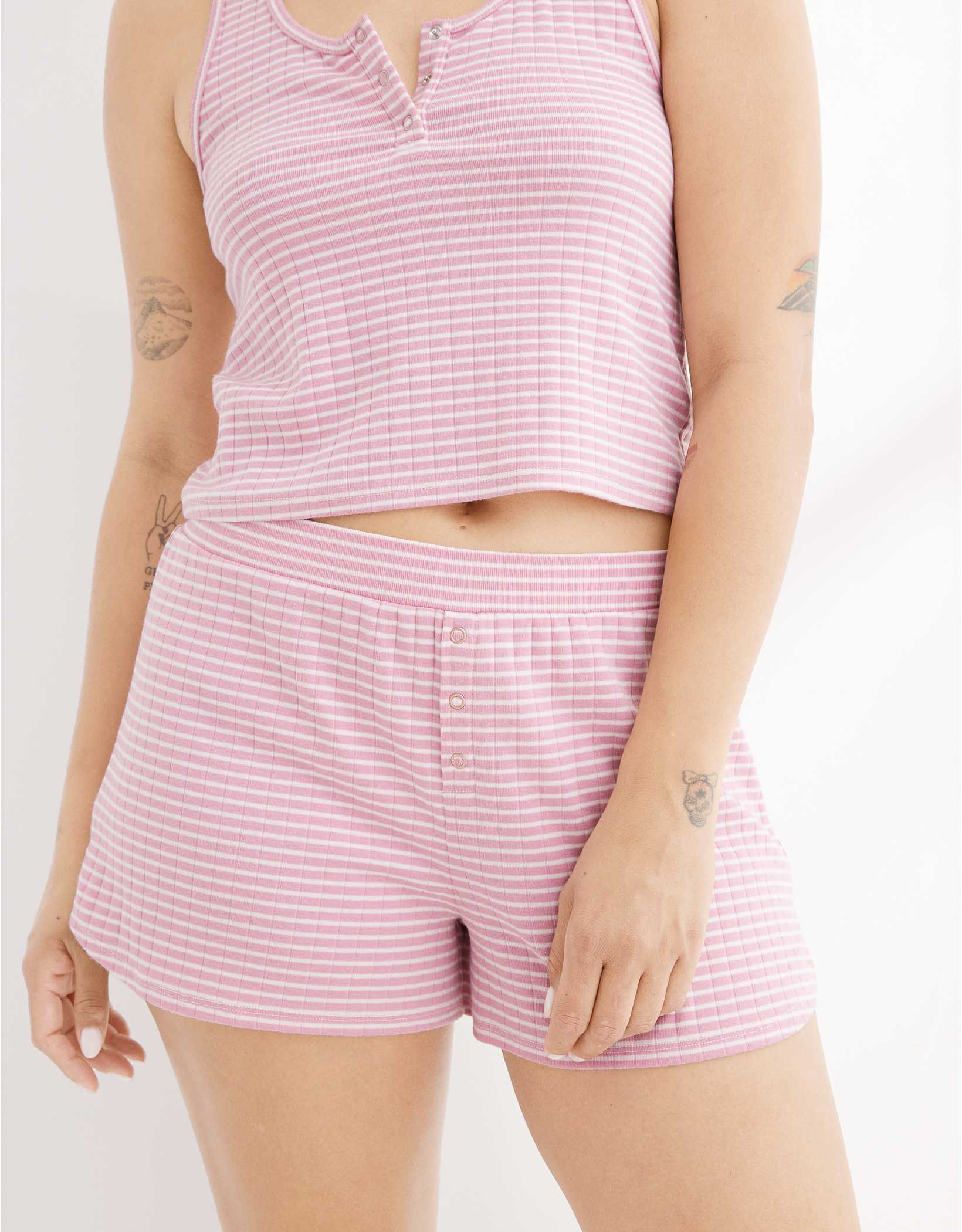 Aerie Ribbed Boxer