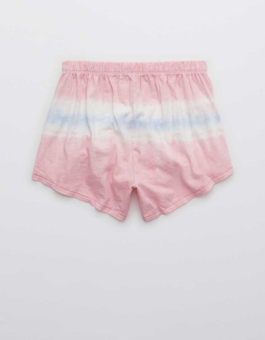 Aerie Tie Dye High Waisted Boxer