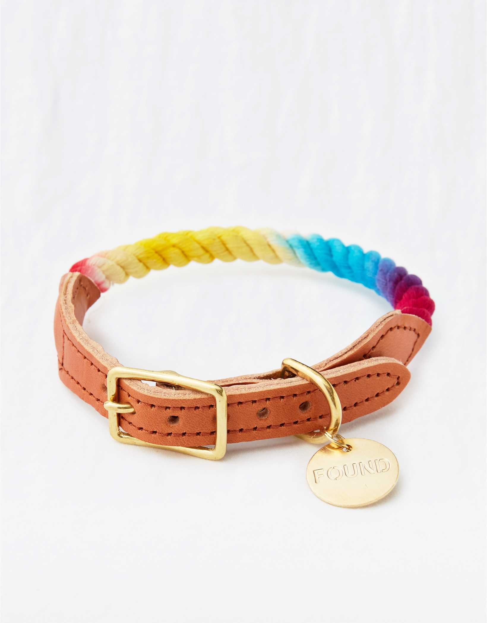 Found My Animal Ombre Rope Collar