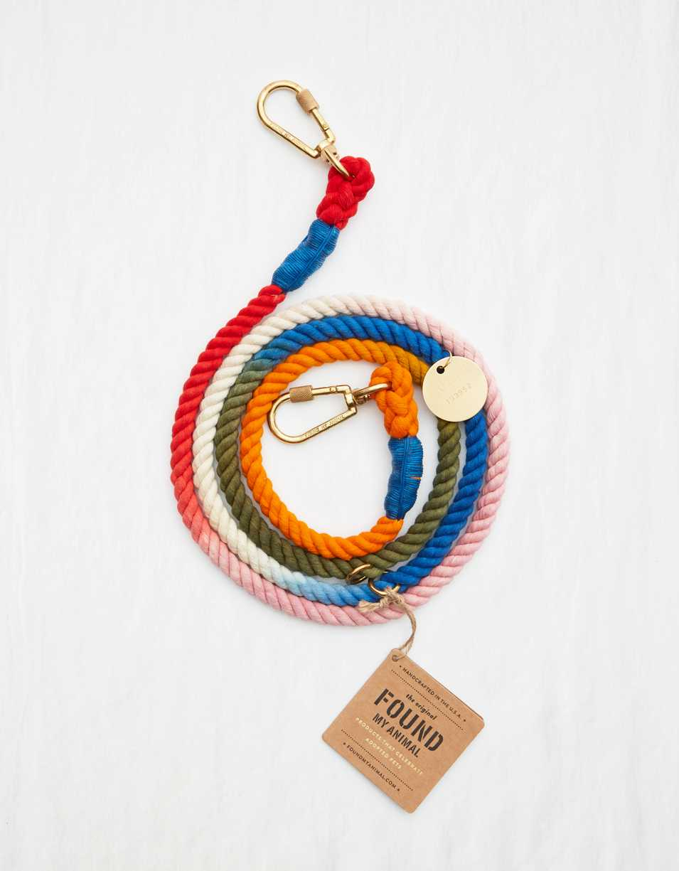 Found My Animal Rope Leash - Ombre